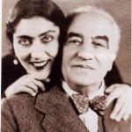 Giordano con la compagna Sara De Cristofaro