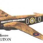 Uno degli aerei che bombardò Foggia
