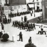 10 giugno 1942 - Reparti della Regia Marina in piazza XX settembre