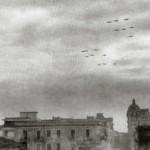 Formazione di bombardieri su Foggia