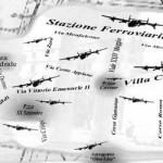 Mappa dei bombardamenti su Foggia