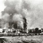 Immagine della città dallo stadio comunale