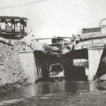 Sottovia di via Scillitani fatto saltare dai tedeschi in ritirata