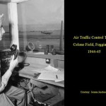 Torre di controllo al campo di aviazione del Celone