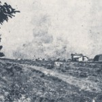 Città bombardata vista da via Bari