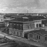 Stabilimenti industriali vicino alla Ferrovia - 1920