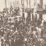 Vigili del Fuoco - incendio in un negozio di corso Vittorio Emanuele 1907