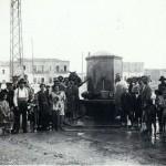 Punto di attingimento di acqua al piano delle fosse degli anni venti (foto Raffaele Corvino)