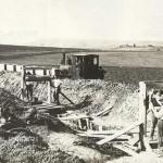 Lavori per la realizzazione dell'Acquedotto