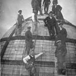 Lavori per la costruzione del Palazzo dell'Acquedotto (foto inviata da Marco Scarpiello)
