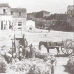 Venditori di paglia e granone al piano delle fosse