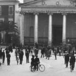 Piazza XX settembre negli anni 30 (collezione privata Marco Scarpiello)