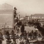 Via IV novembre negli anni 30 (collezione privata Marco Scarpiello)