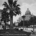 Piazza Cavour negli anni 40