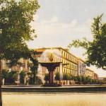 Piazza Cavour anni 40