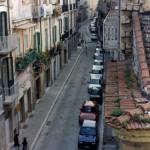 Via Arpi vista dal Palazzo Barone