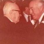 Il presidente Pertini con il sindaco Graziani - 1 marzo 80 (foto ilmattinodifoggia.it)
