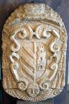 Stemma in pietra di mons. A. de'Sangro (1675)   (su concessione del Museo Civico di Foggia)
