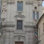 P.zza S. Chiara – Chiesa di S. Chiara (sconsacrata) e monastero delle clarisse