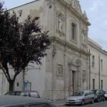 Via Arpi – chiesa di Sant'Agostino con monastero degli Agostiniani