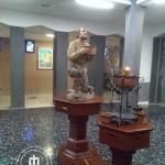 la statua del pastore Strazzacappa