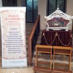 Le reliquie di S.Amanzio all'interno del Santuario