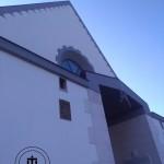 Facciata anteriore del Santuario dell'Incoronata
