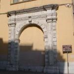 """P.zza Nigri – Conservatorio """"U. Giordano"""" Portale della Pianara"""