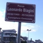 Il parco Leonardo Biagini