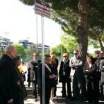 Il momento dell'inaugurazione, il 19 aprile 2011 (foto stampasud)