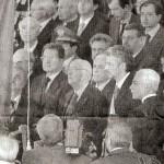 Momento della cerimonia (foto dalla Gazzetta del Mezzogiorno)