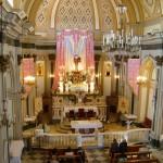 Interno della chiesa (foto di Marco Longo)