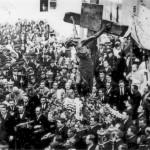 Immagine della processione del Crocifisso del 1933
