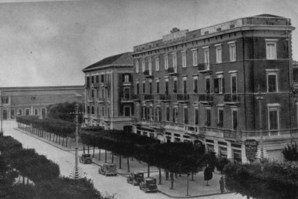 L'albergo Cicolella con annessa la sala omonima negli anni 30