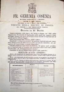 L'antico documento