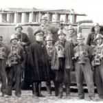 32° Corpo dei Vigili del Fuoco di Foggia - al centro il Maresciallo D'Addedda