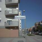 La via di Foggia intitolata ad Ignazio d'Addedda