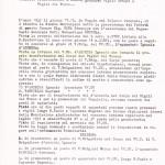 Domanda di trasferimento al Corpo dei Vigili del Fuoco