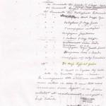 Ordine di resa firmato dal Generale di Brigata Felice Caperdoni