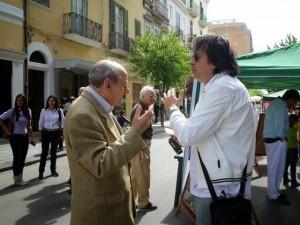 Alfonso De Santis con Alberto Mangano