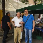 Alfonso De Santis con Tommaso Palermo