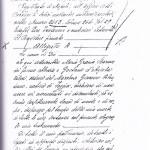 """(pagina del testamento: si legge chiaramente: """"Io qui sottoscritta Maria Grazia Barone..."""")"""