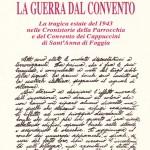 """Copertina dell'opuscolo """"La guerra dal convento)"""