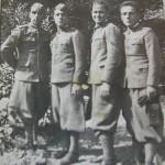 La Salandra è il secondo dalla sinistra