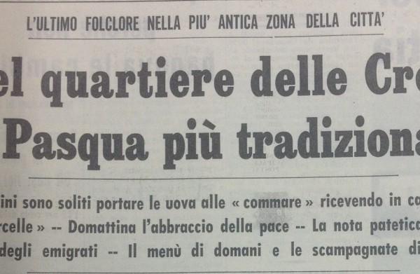 """Il titolo de """"La Gazzetta del Mezzogiorno"""""""