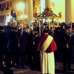 La processione del venerdì santo si conclude in piazza XX settembre