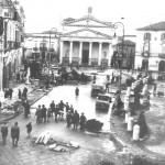 Lavori di ammodernamento della strada che si conclusero nel 1930