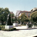 Piazza Giordano negli anni 70