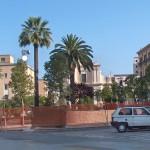 Cantiere per la realizzazione della nuova piazza