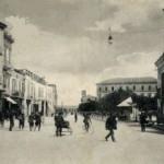 La piazza negli anni 20